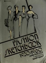 Cover of: Fashion sketchbook, 1920-1960