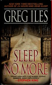 Cover of: Sleep no more