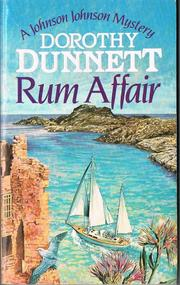 Cover of: Rum Affair. | Dunnett, Dorothy.
