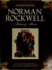 Cover of: Norman Rockwell memory album |