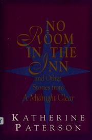 Cover of: No room in the inn