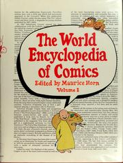 Cover of: The World encyclopedia of comics