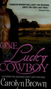 Cover of: One lucky cowboy