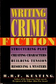 Cover of: Writing Crime Fiction (The Writer's Library)