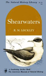Cover of: Shearwaters