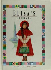 Cover of: Eliza