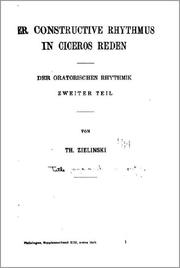 Cover of: Philologus by Dieterich'sche Verlagsbuchhandlung
