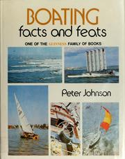 Cover of: Boating | Johnson, Peter