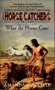 Cover of: When the horses came