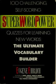 Cover of: SuperWordPower