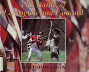 Cover of: The Battle of Lexington and Concord | Neil Johnson