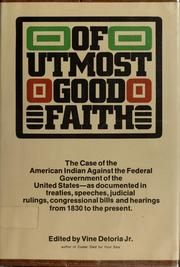 Cover of: Of utmost good faith