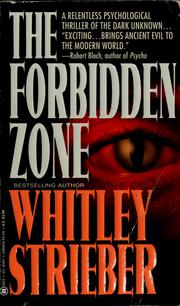 Cover of: The forbidden zone