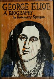 Cover of: George Eliot | Rosemary Sprague