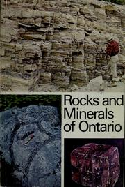 Cover of: Rocks and minerals of Ontario by Donald F. Hewitt