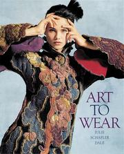 Cover of: Art to wear