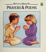 Cover of: My Little Book Of Prayers & Poems
