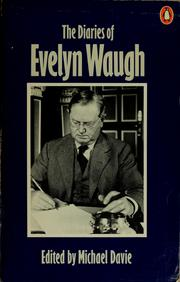 Cover of: The diaries of Evelyn Waugh | Evelyn Waugh
