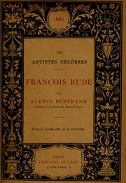Cover of: François Rude