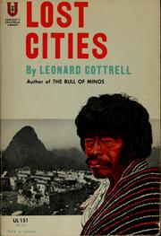 Cover of: Lost cities