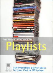 Cover of: The rough guide book of playlists | Mark Ellingham