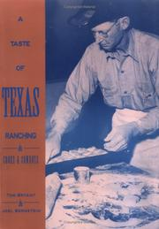 Cover of: A taste of Texas ranching | Tom Bryant