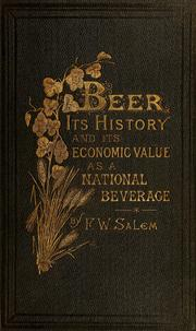 Cover of: Beer by F. W. Salem
