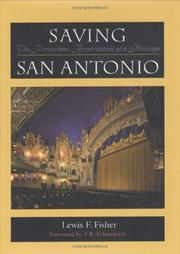 Cover of: Saving San Antonio | Lewis F. Fisher