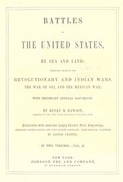 Cover of: Battles of the United States