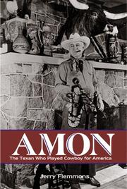 Cover of: Amon | Jerry Flemmons
