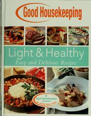 Cover of: Good housekeeping light & healthy