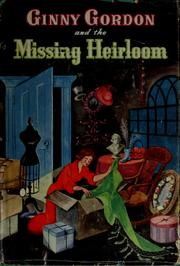 Cover of: Ginny Gordon and the missing heirloom: #2