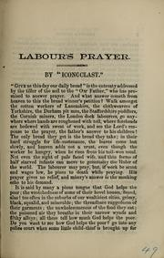 Cover of: Labour's prayer