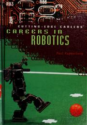Cover of: Careers in robotics