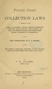 Cover of: Pacific coast collection laws