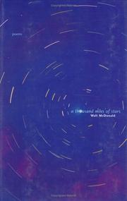 Cover of: A thousand miles of stars | Walter McDonald