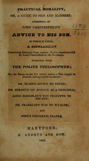 Cover of: Practical morality