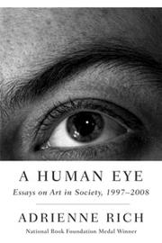 Cover of: A Human Eye | Adrienne Rich