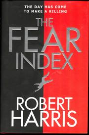 Cover of: The fear index | Robert Harris
