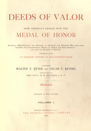 Cover of: Deeds of valor by Walter F. Beyer