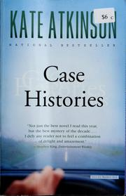Cover of: Case histories | Kate Atkinson