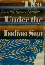 Cover of: Two under the Indian sun