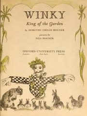 Cover of: Winky, king of the garden