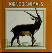 Cover of: Horned animals | Nathan Aaseng