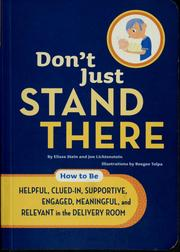 Cover of: Don't just stand there