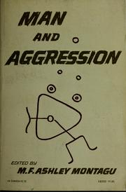Cover of: Man and aggression