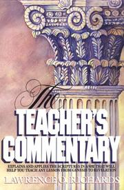 Cover of: The teacher's commentary