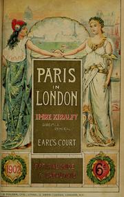 Cover of: Paris in London |