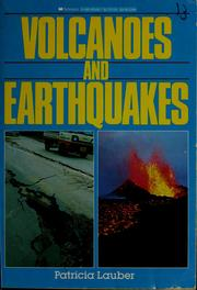 Cover of: Volcanoes and earthquakes