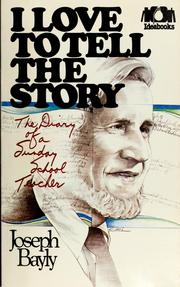 Cover of: I love to tell the story